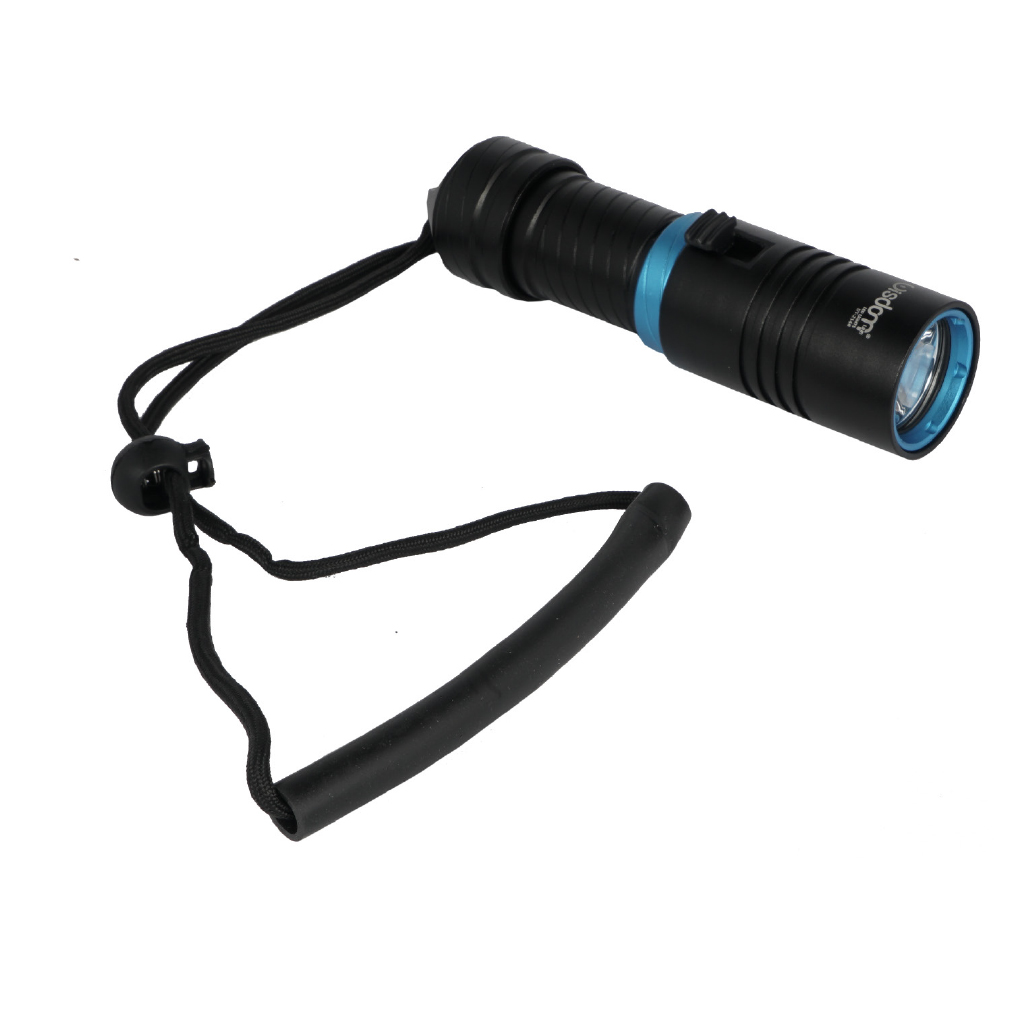 Led torch rechargeable scuba diving